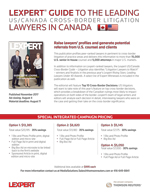 US/Canada Cross-Border Guide-Litigation<br>closes August 4, 2017