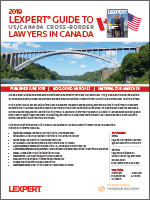 US/Canada Cross-Border Guide <br>2020 COMING SOON