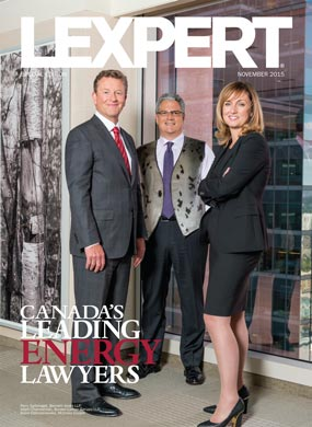 Lexpert publishes 2015 Energy special edition in Globe and Mail's Report on Business