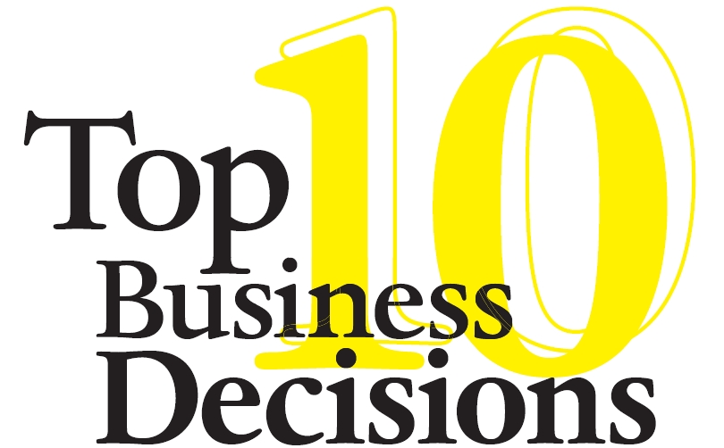Top 10 Business Decisions of 2016