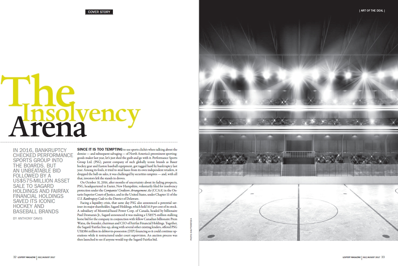 The Insolvency Arena