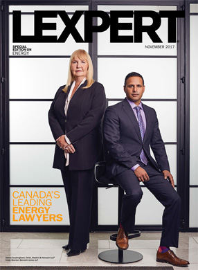 Lexpert publishes 2017 Energy special edition in Globe and Mail's Report on Business