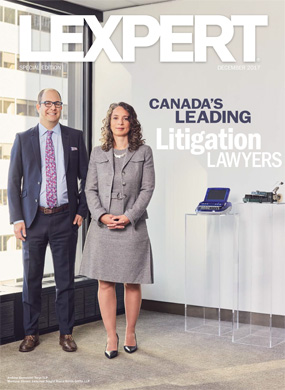 Lexpert Special Edition - Canada's Leading Litigation Lawyers