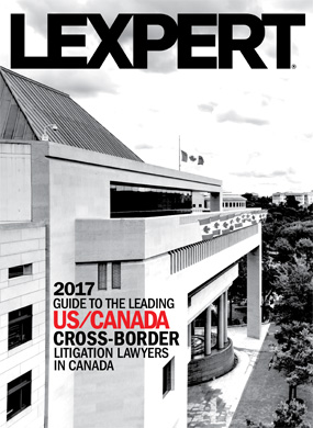Lexpert publishes 2017 US/Canada Cross-Border Guide – Litigation