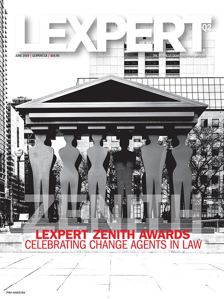 2019 Lexpert Zenith Awards: Celebrating Change Agents